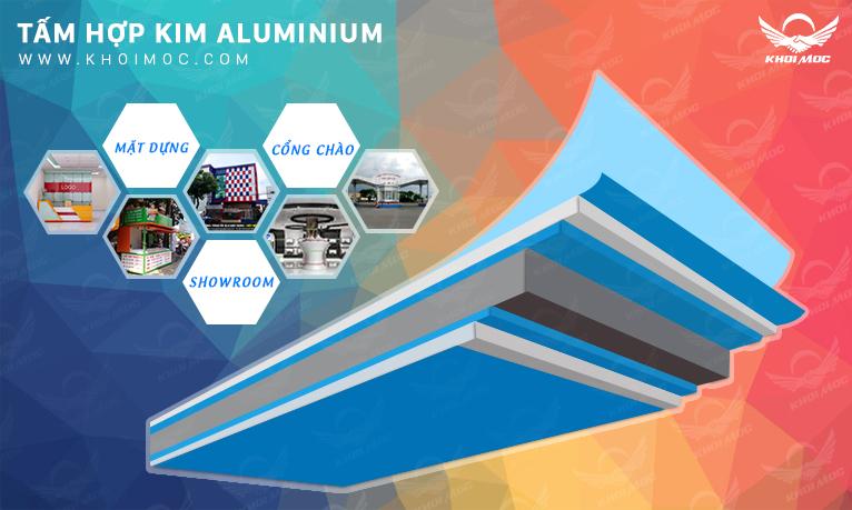 Tấm nhôm aluminium   Ứng dụng alu trong ngành quảng cáo